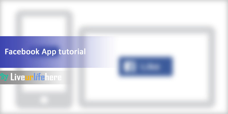 Facebook App tutorial