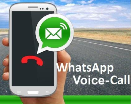 enable voice call inwhatsapp