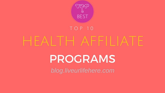 health affiliate programs