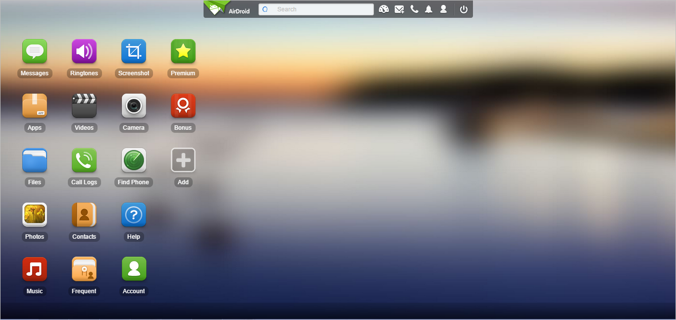 Soource:web.airdroid.com