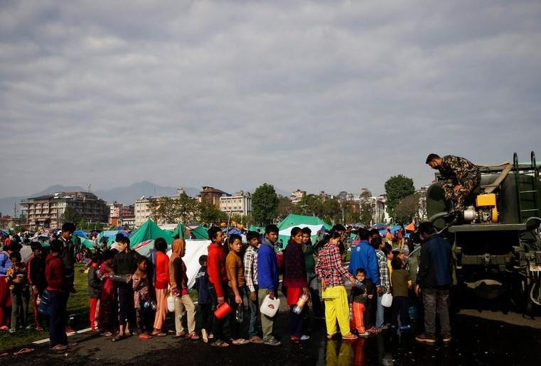Force help in Nepal earthquake