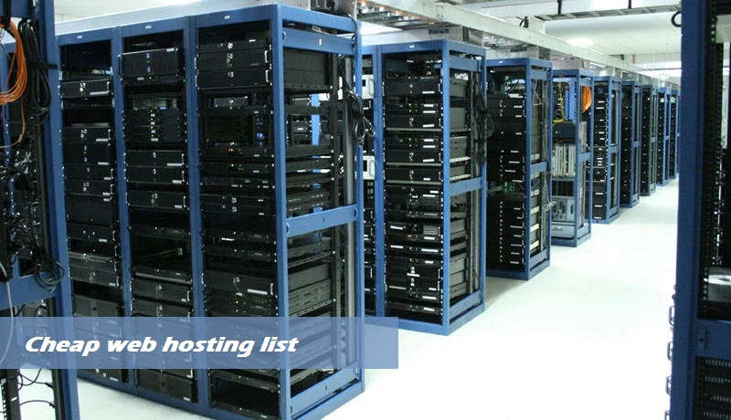 cheapest web hosting provider
